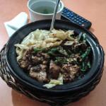 Lamb rice casserole