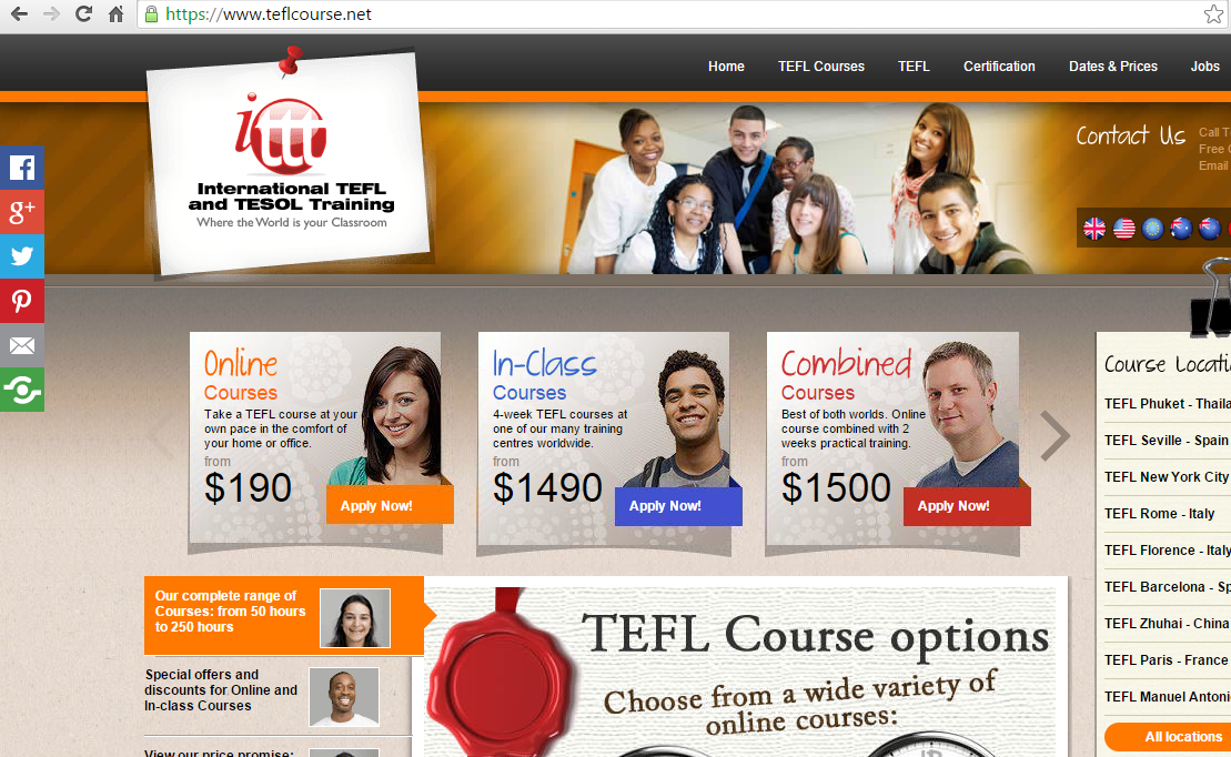 The top 5 TEFL courses as ranked by Google - China TEFLer