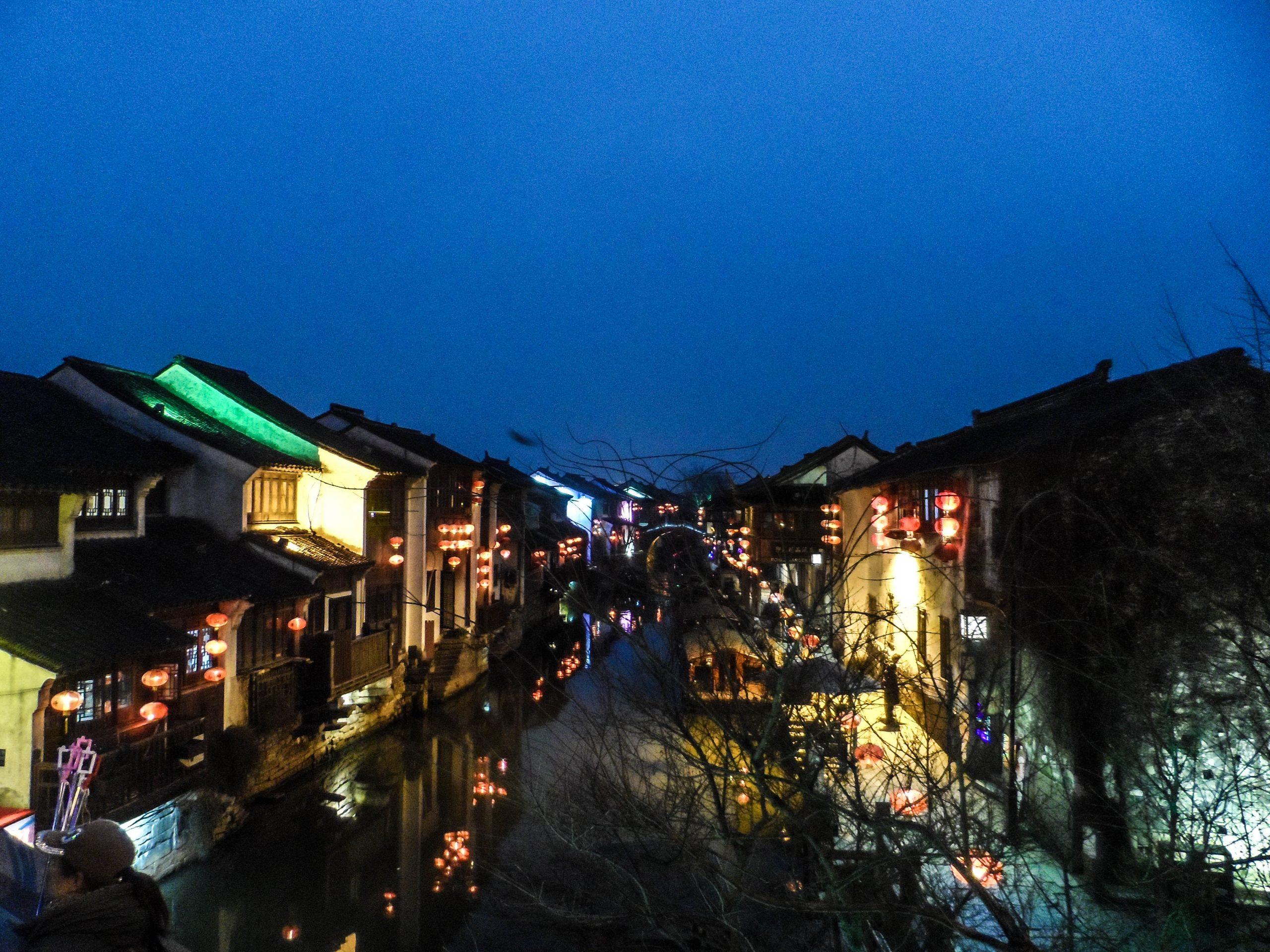 Suzhou canal night