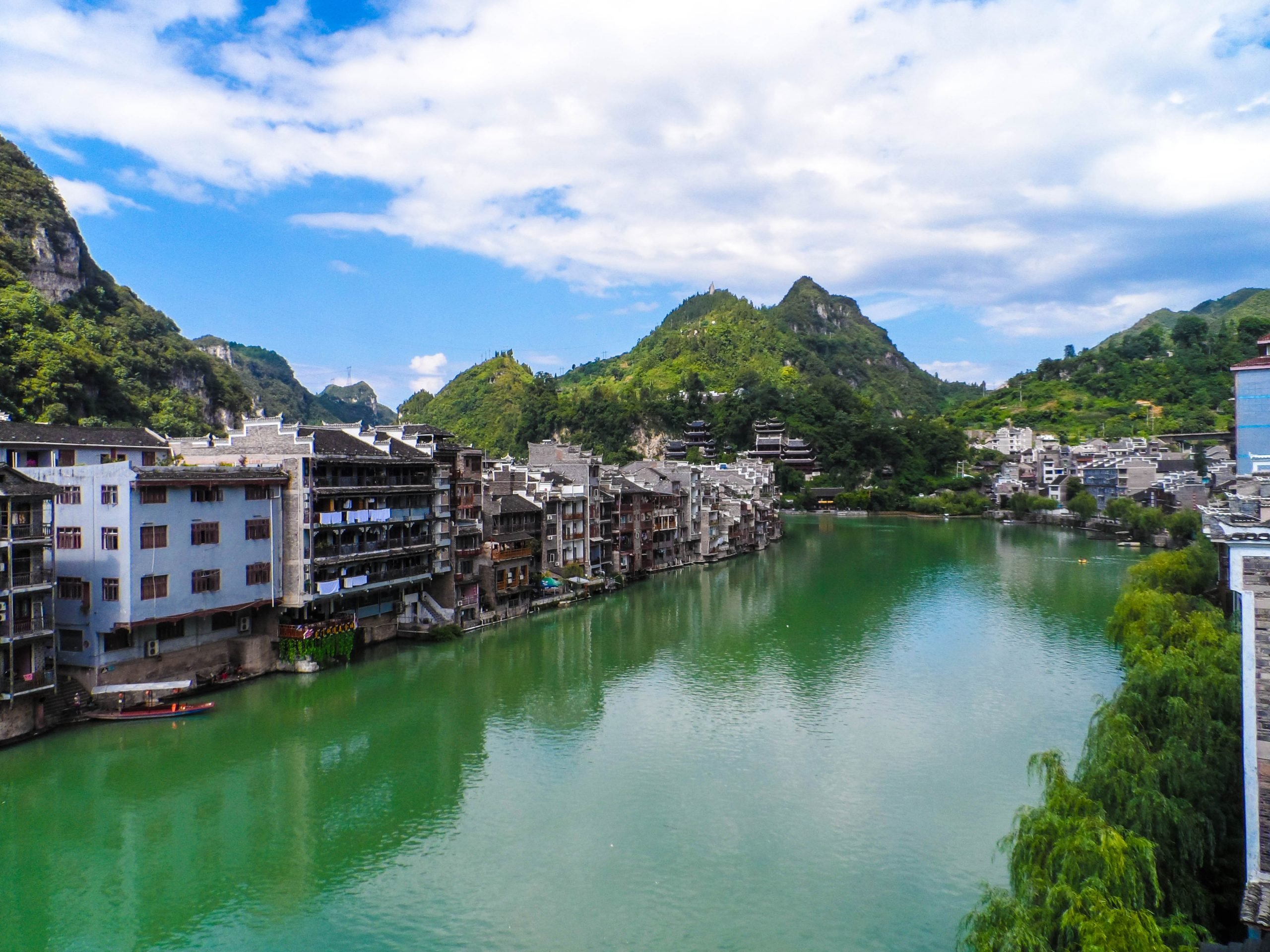 Zhenyuan riverside