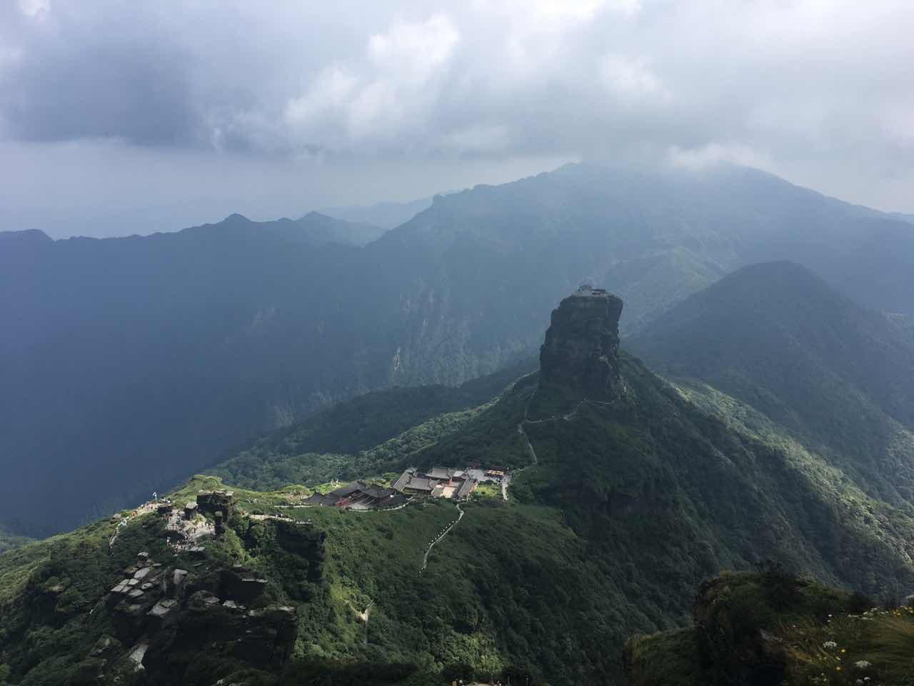 Fanjing mountain, Guizhou province, China
