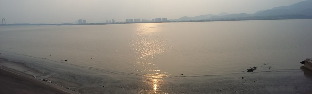 China - View from my apartment in hangzhou