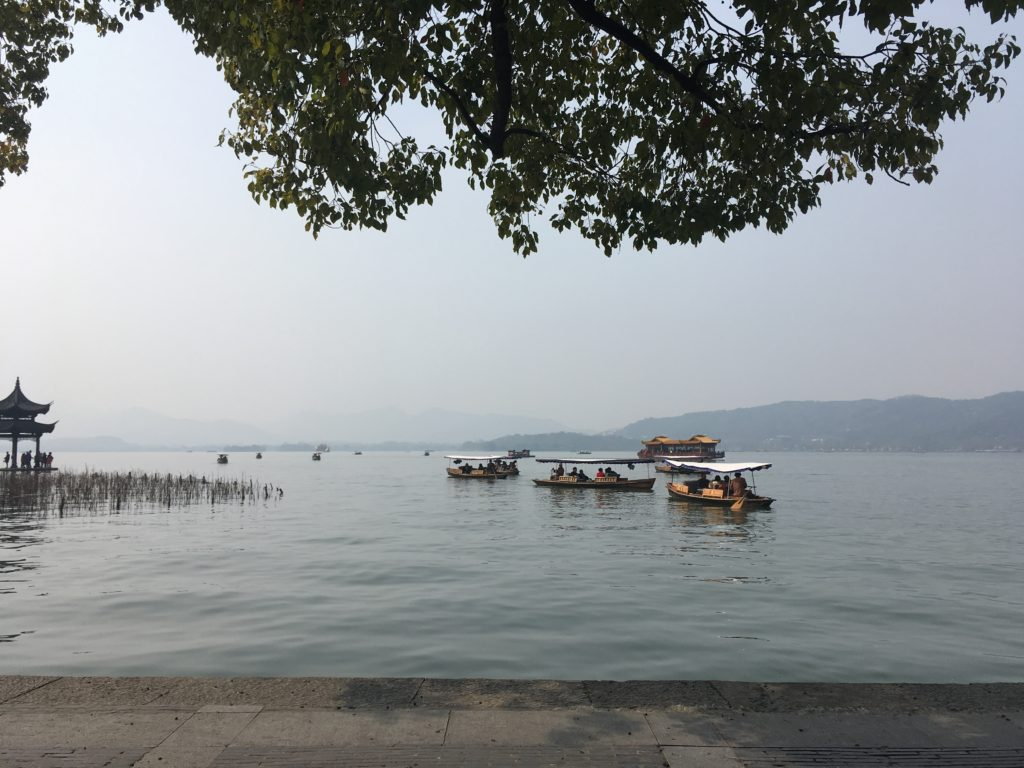 Hangzhou new century foreign language school review lake
