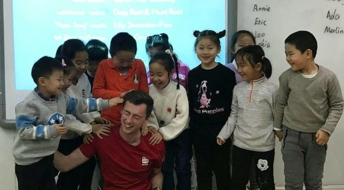 Oli at First Leap English in Beijing