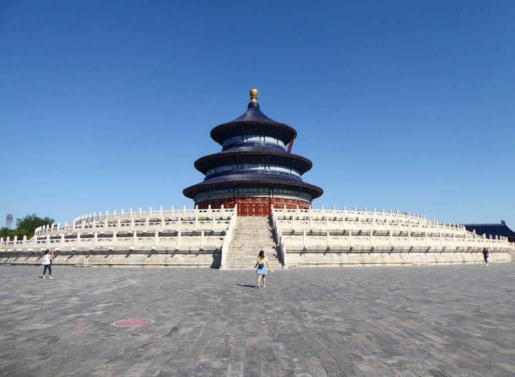 Oli in Beijing temple of heaven