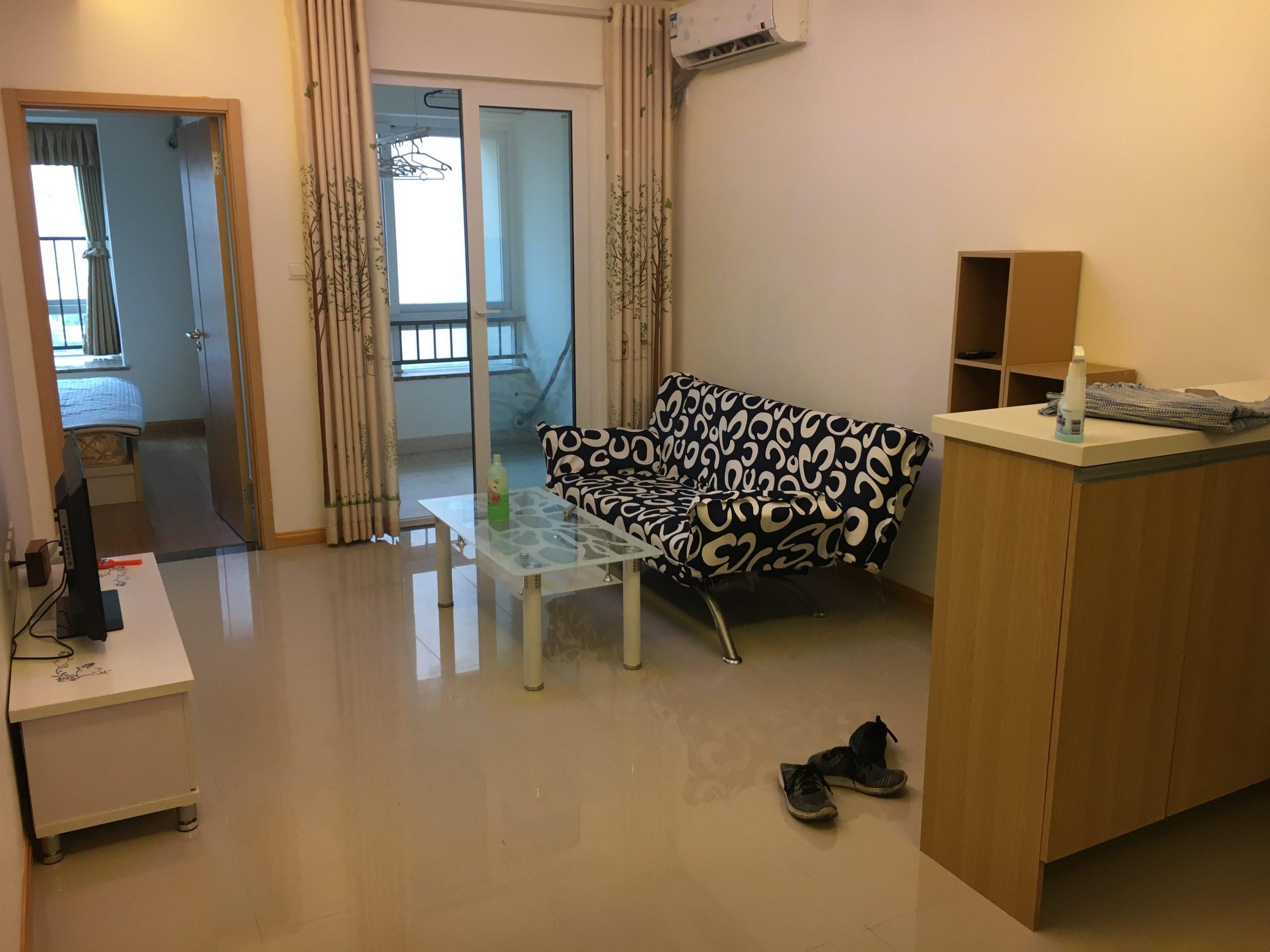 TEFL teachers apartment at EF Chongqing. Living room