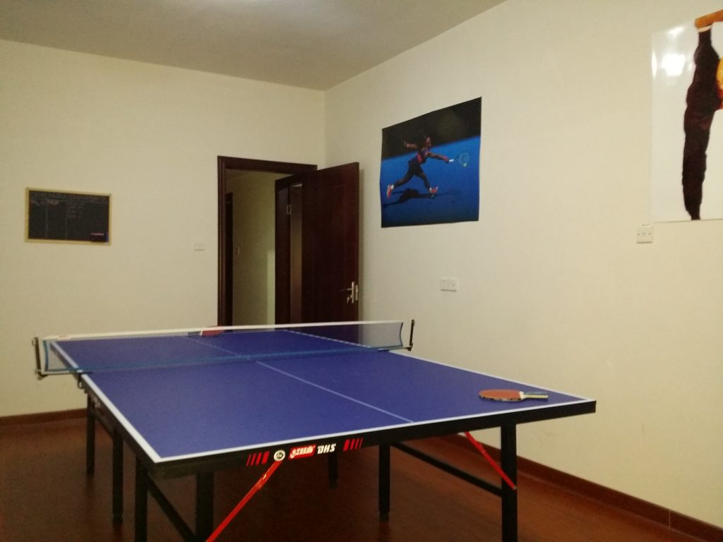 Table tennis table China in Yiwu Zhejiang