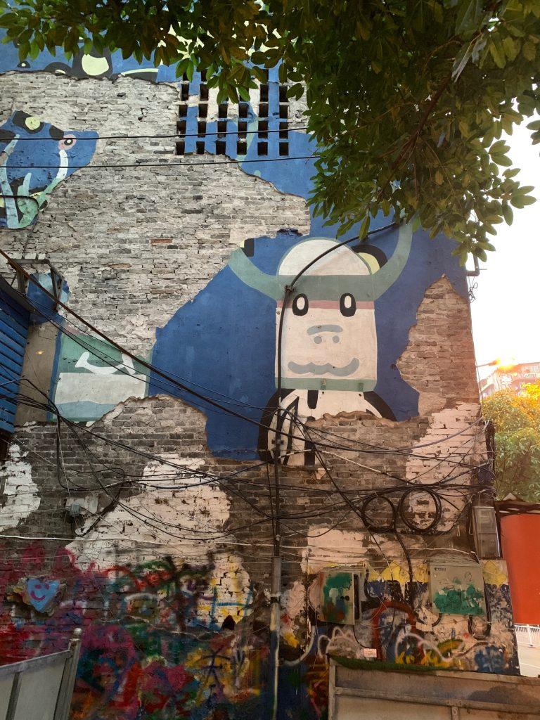 Graffiti art in Chongqing