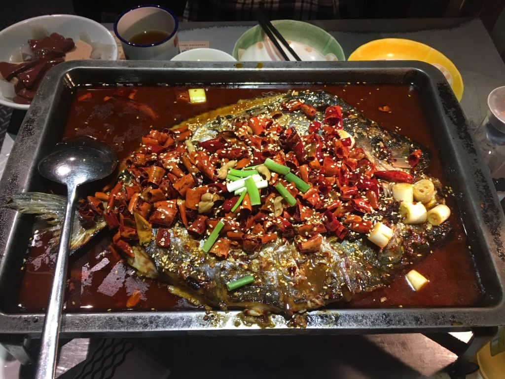 My favorite dish- kao yu