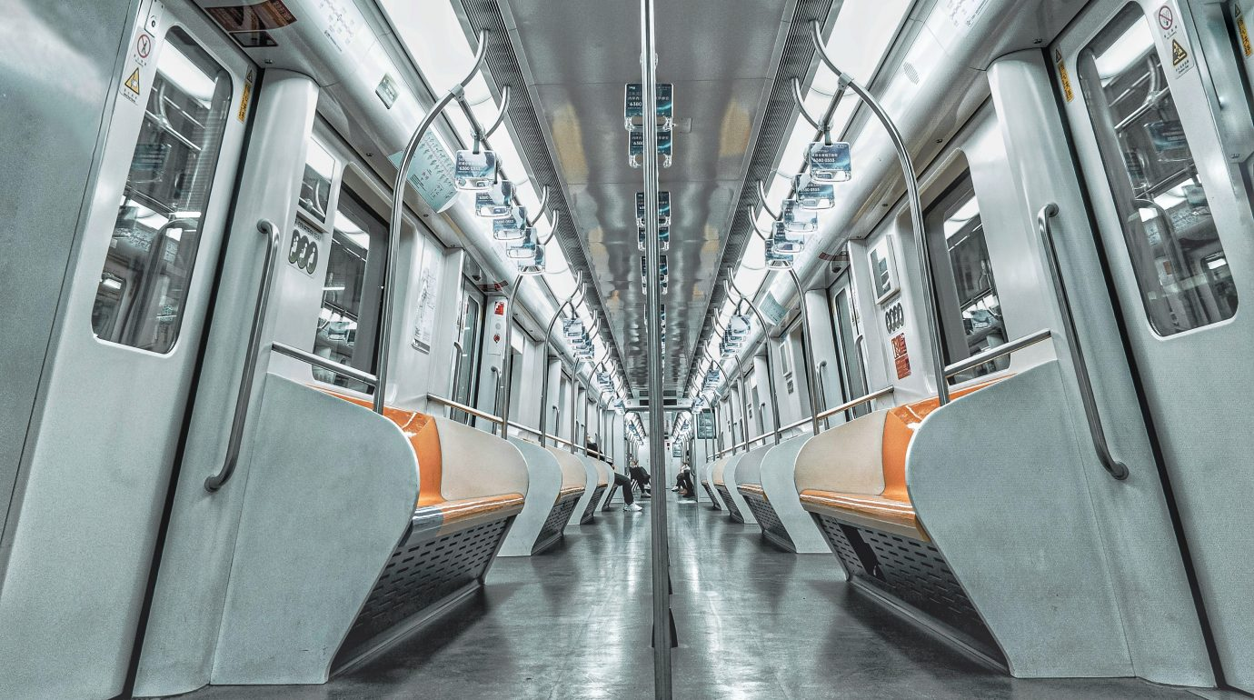The deserted Shanghai Metro during the virus outbreak