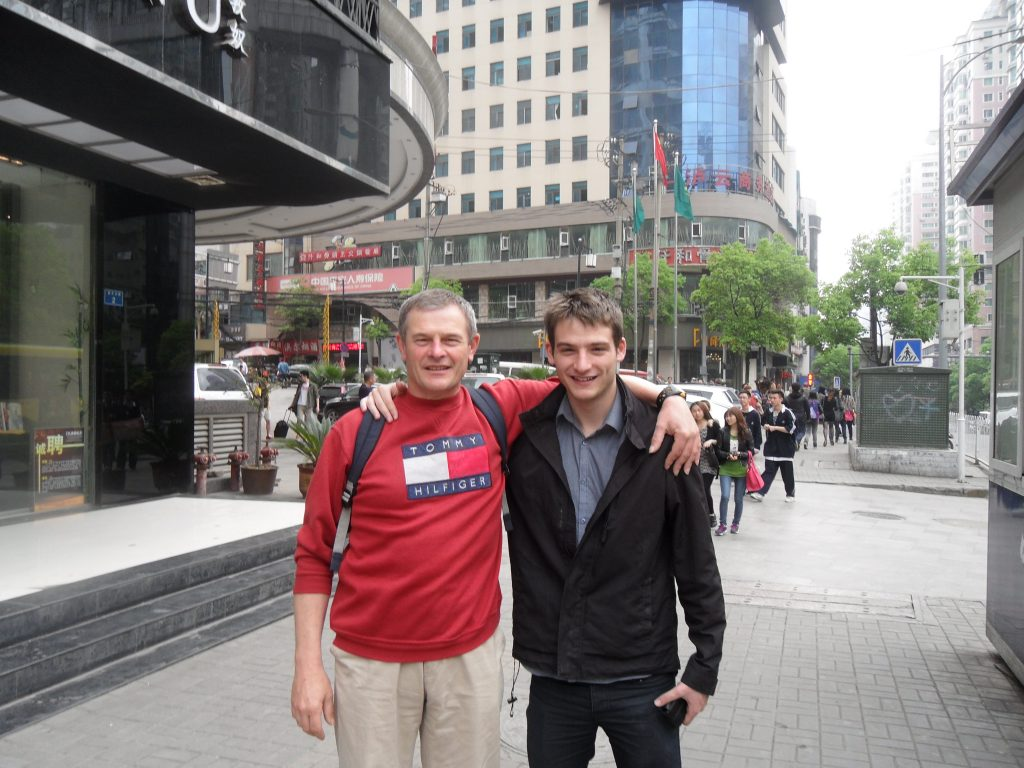 Ben and Gary Noon Guiyang early 2013